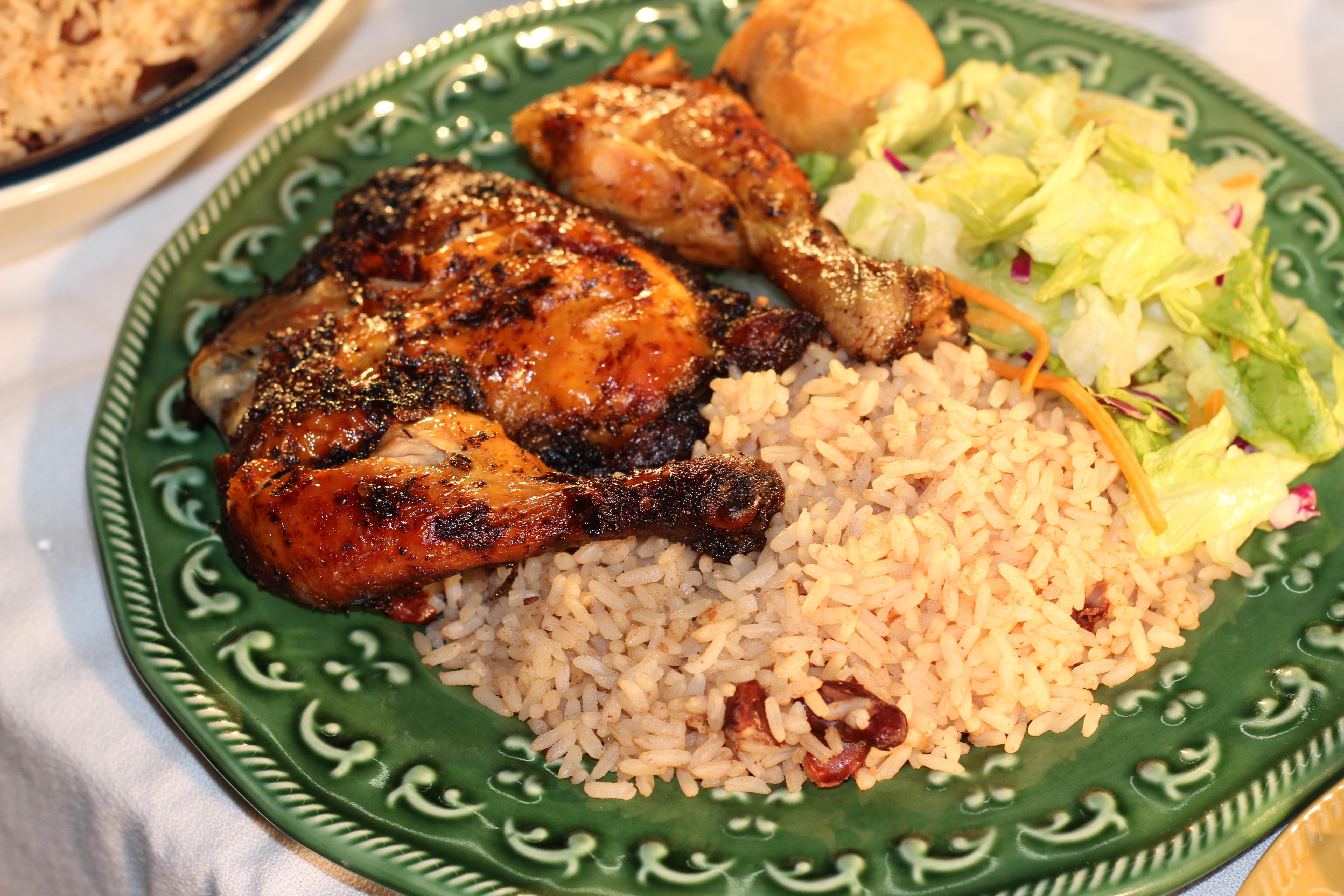 Jerk Chicken | Caribbean Sunshine Bakery